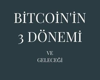 Bitcoin'in 3 Ekonomik Dönemi ve Geleceği