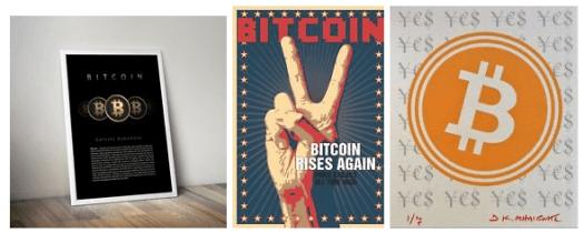 Bitcoin art and Prints