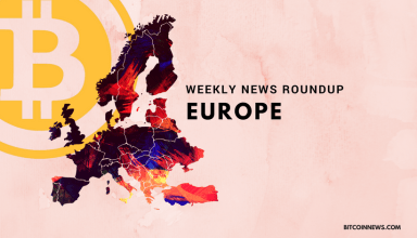 Europe: Crypto and Blockchain News Roundup, 1st to 7th June 2018