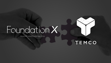 "Cryptocurrency Accelerator ""Foundation X"" Openly Supports TEMCO"