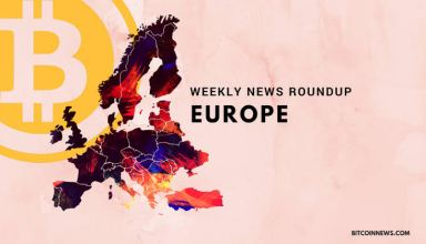 Europe: Crypto and Blockchain News Roundup 19 to 25 January 2019