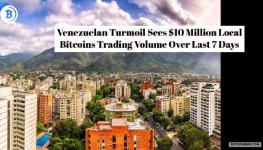 Venezuelan Turmoil Sees $10 Million Spurt on LocalBitcoins