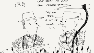 Cartoon: Lots of Monies in Merkle Trees