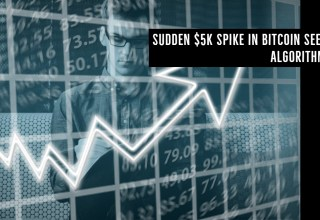 Sudden $5k Spike in Bitcoin Seems Algorithmic