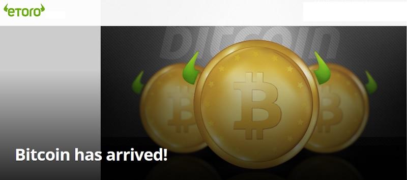etoro bitcoin apžvalga