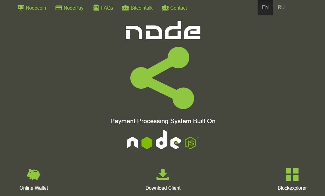 NODE Second Generation Cryptocurrency With Different Codebase To Bitcoin Launches