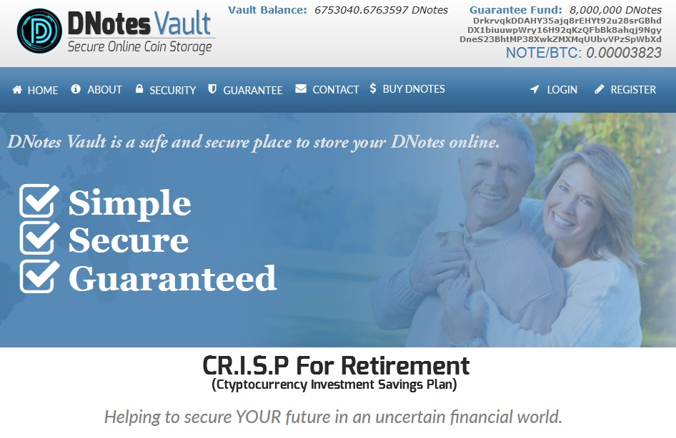 DNotes Digital Currency Retirement Savings Plans Provide Relief For Underfunded Retirement Accounts