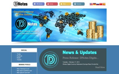 Bitcoin Alternative DNotes Focuses On Banking Solutions And Stability While Venture Capital Investment Continues At Record Breaking Pace