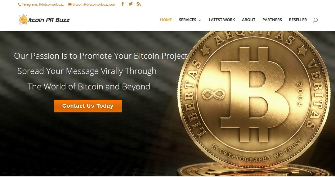 Bitcoin PR Buzz and Coinpoint Announce Strategic Bitcoin PR and Marketing Partnership