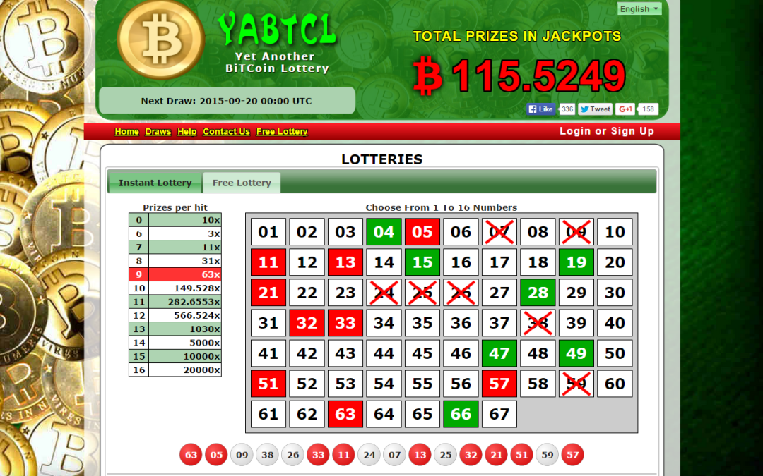Bitcoin Lottery YABTCL Offers Over 1 BTC In Free Draws, Introduces Unprecedented Variable House Edge Feature