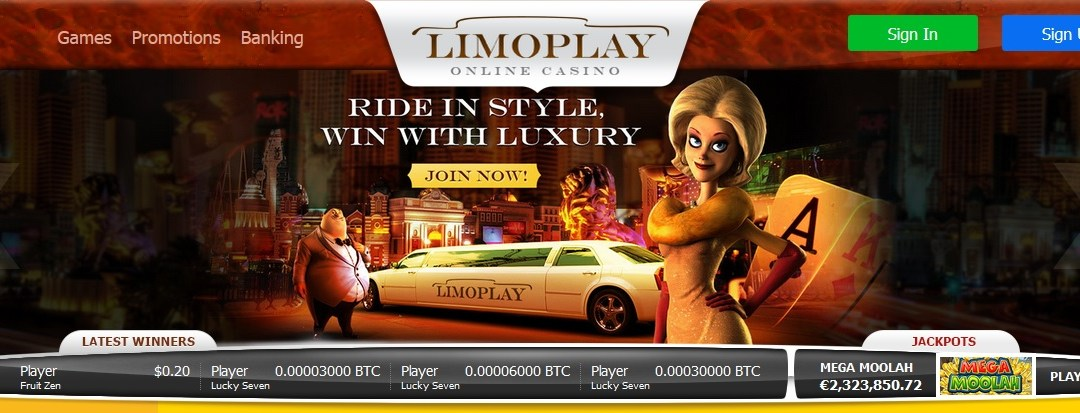 Bitcoin Gaming Brand LimoPlay Casino Celebrates Launch With 100% Match Bonus