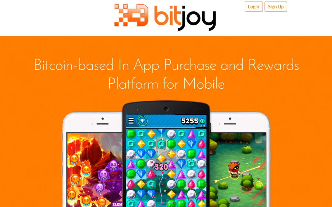 BitJoy Brings Bitcoin Based in-App Purchases and Rewards to iOS, Android and Unity
