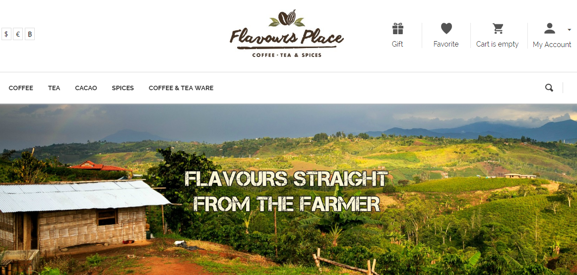 Flavours Place Screenshot
