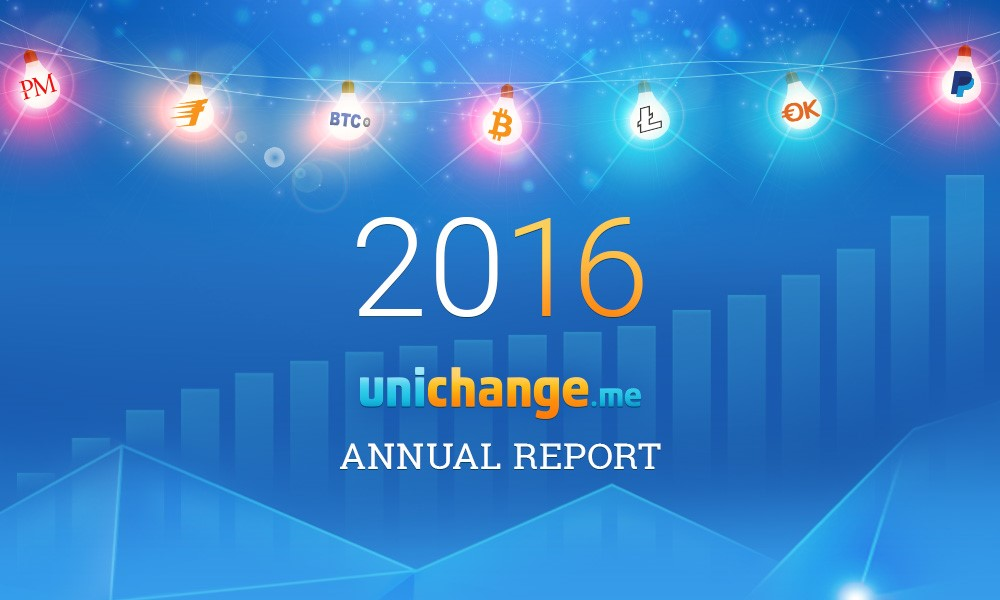 Bitcoin Exchange Platform Unichange Releases Its Annual Report for 2016