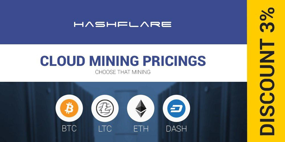 HashFlare Offers Cheapest Bitcoin Cloud Mining, Discount Until September 17, 2017