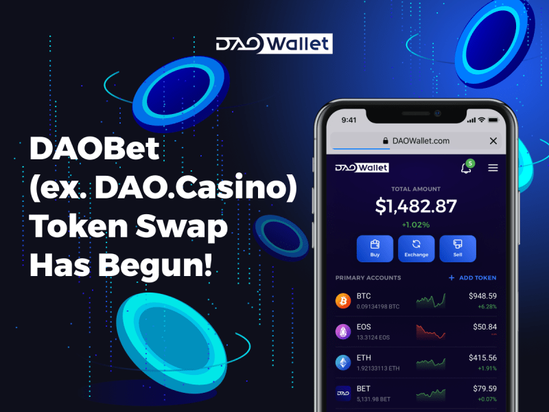 DAOBET.io Press Release