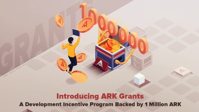 ARK Press Release Blockchain