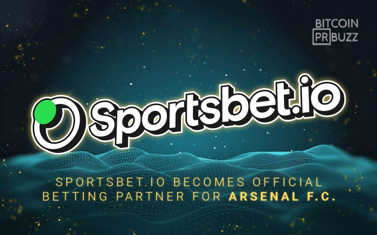 Sportsbet.io Becomes Official Betting Partner for Arsenal F.C.