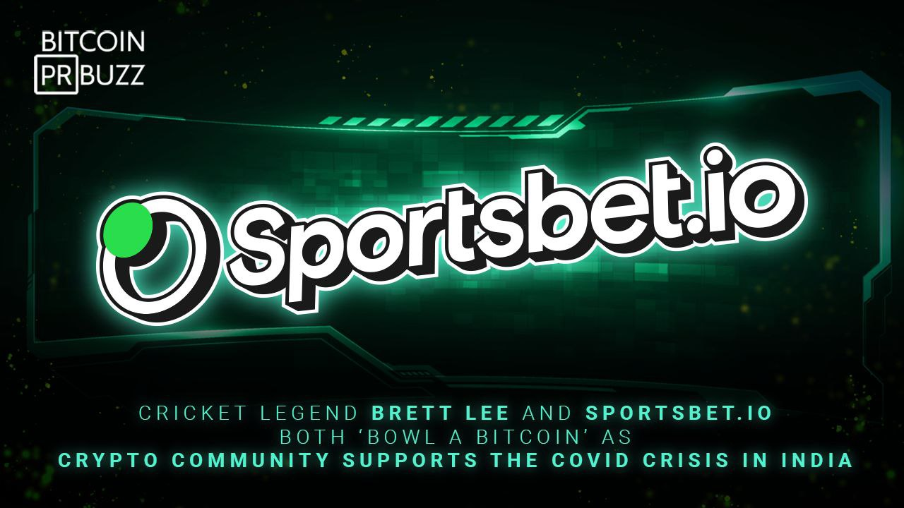Cricket Legend Brett Lee and Sportsbet.io both 'bowl a Bitcoin' as Crypto Com...