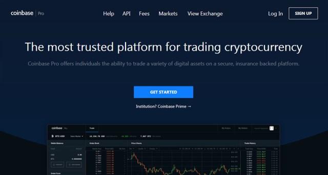 Coinbase Pro Trading