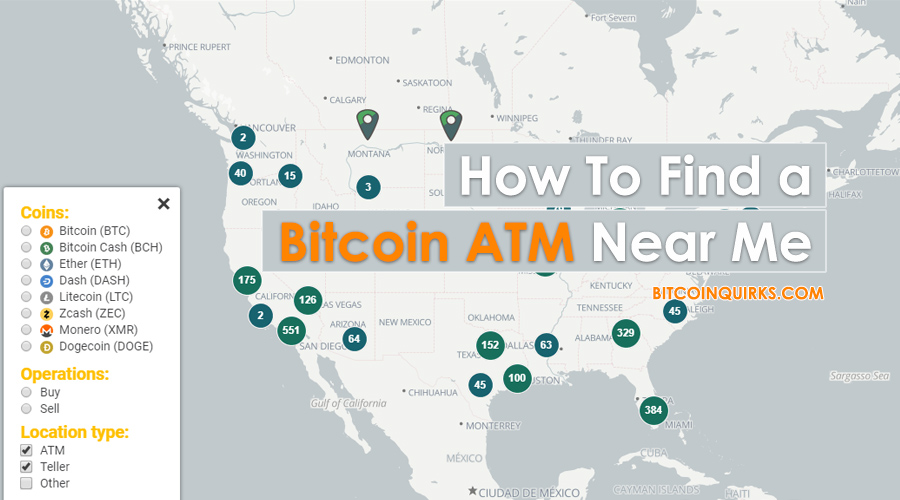 How To Find A Bitcoin Atm Near Me