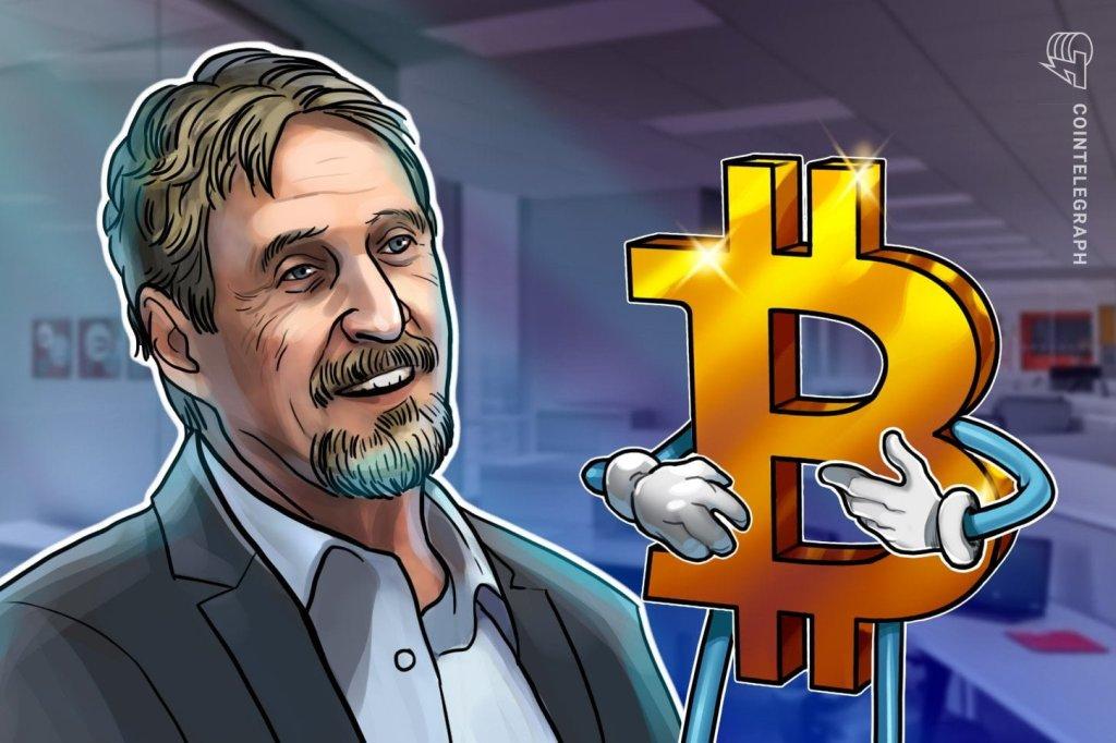 John McAfee Calls His Own 1$M Bitcoin Price Prediction 'Nonsense'