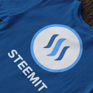 Steemit logo t-shirt