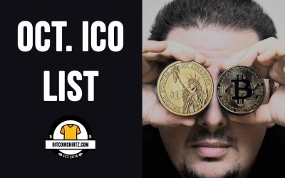 ICO Investment News: Top ICOs Launching This October