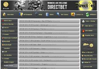 Bet on a wide range of club and national rugby union and league matches