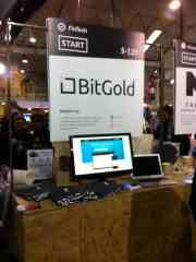 bitgold-websummit-booth