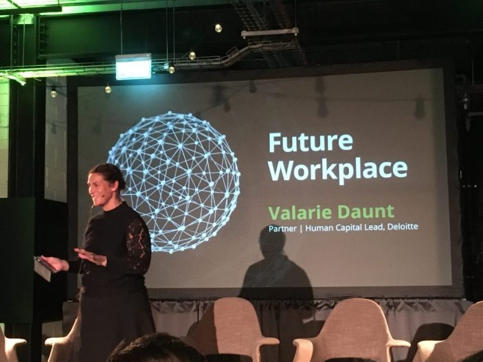 Valarie Daunt - Future Workplace talk