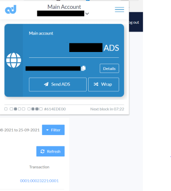The ADS Wallet