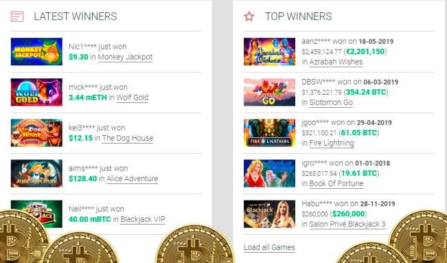 Dragon Dance crypto slots Betcoin.ag Casino free games