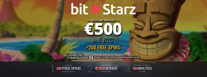 Online bitcoin casino with free signup bonus real money usa