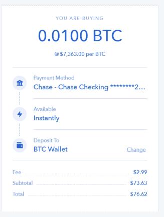 buy coinbase bitcoin