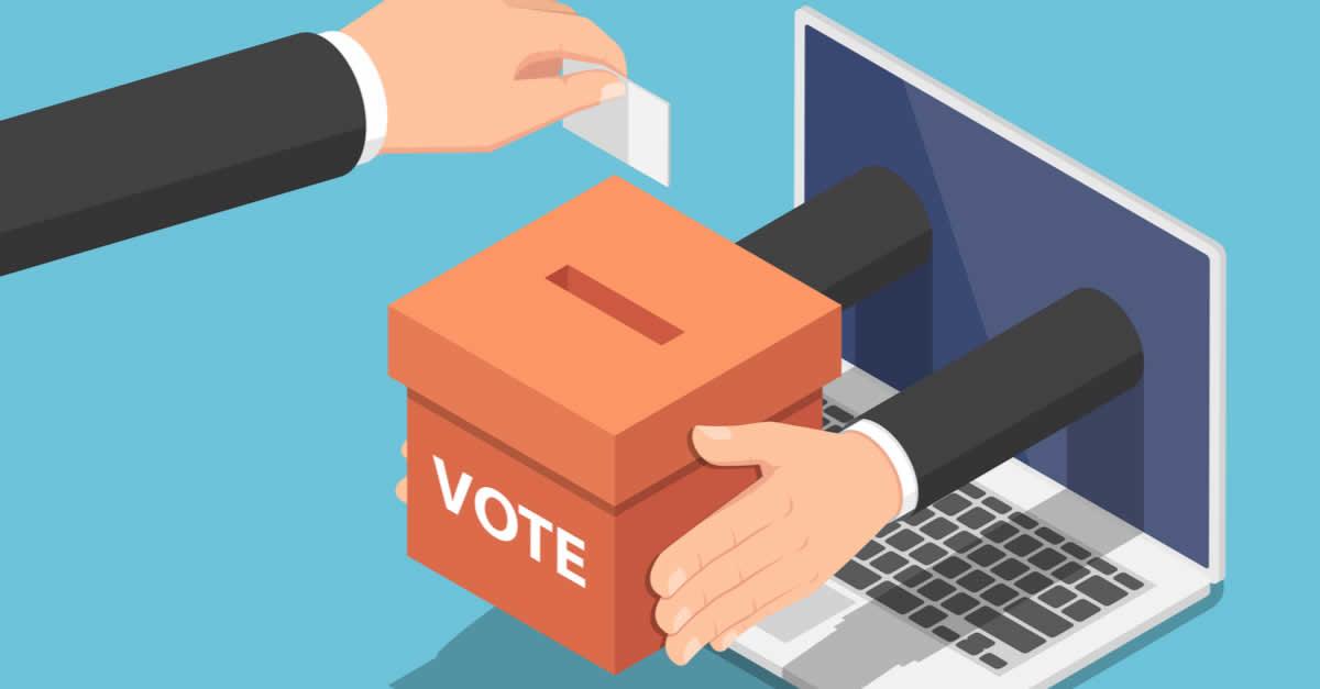 ブロックチェーン投票