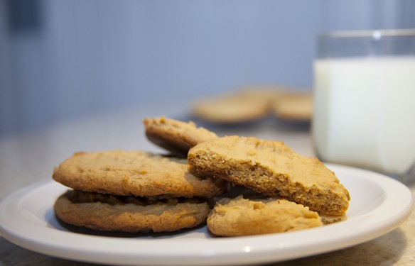brown sugar peanut butter cookies