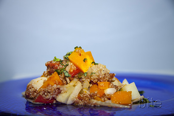 Roasted Butter Nut and Quinoa Salad