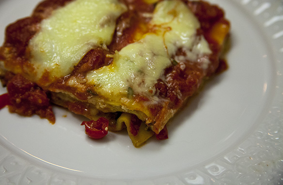 winter lasagna