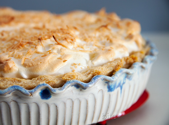 coconut cream pie – Ralph's favorite