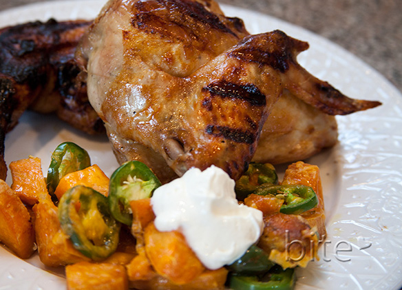 Rootbeer Barbecue Chicken Dinner