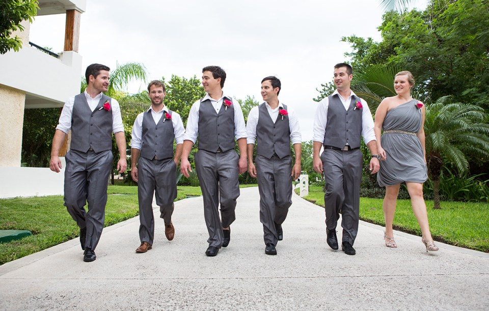 Groomsmen and Lady