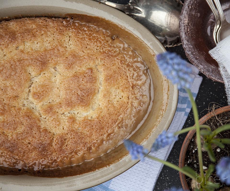maple pudding Easter cake – no muss, no fuss