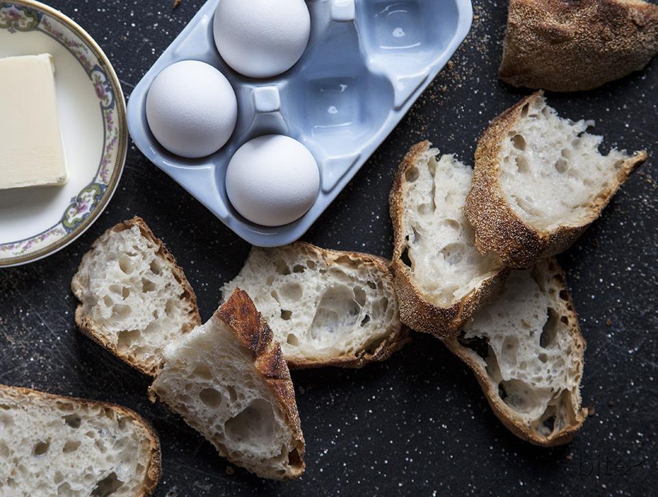 artisan bread – four ingredients – no work – unbelievable