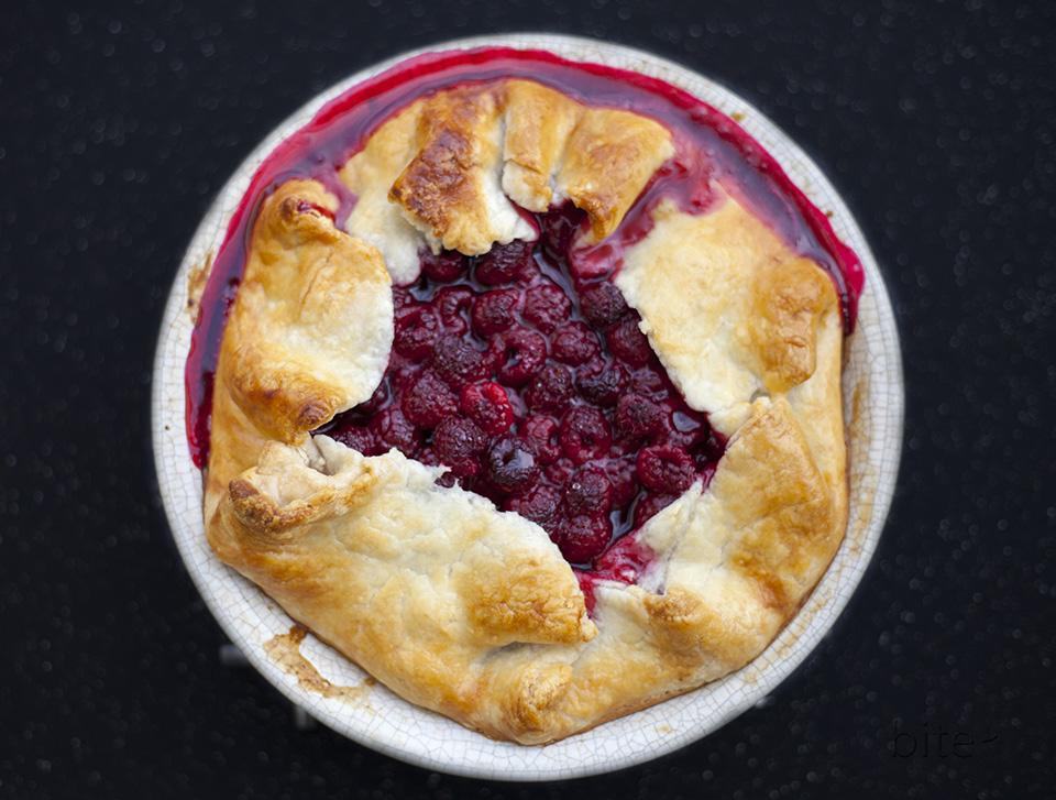 fresh raspberry tart - perfect summer dessert