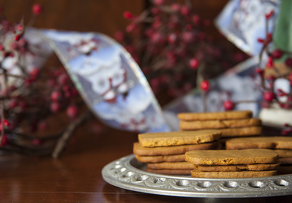 ice box gingersnaps – easiest cookie you'll ever bake