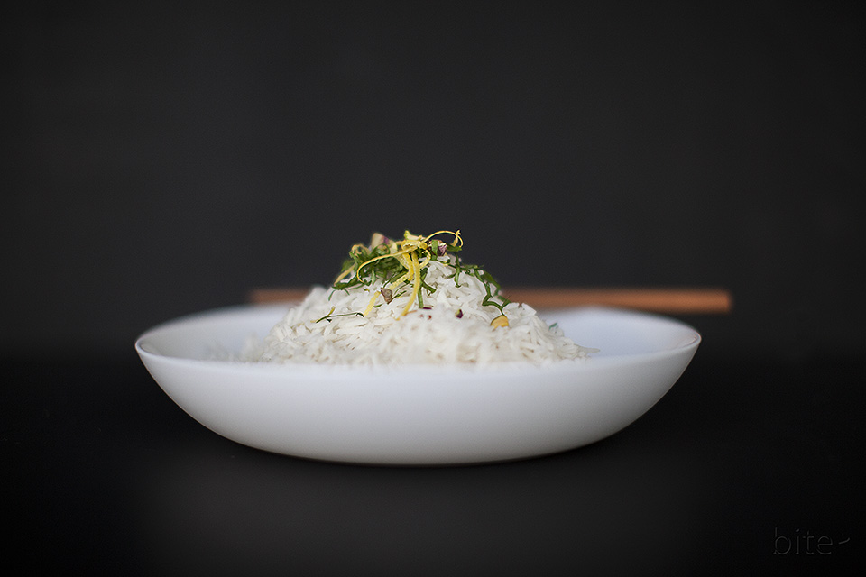 perfect steamed rice - every time / bitebymichelle.com