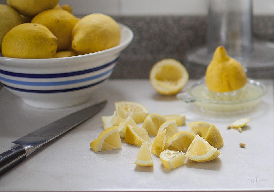 raspberry lemon sorbet - pucker up l bitebymichelle.com