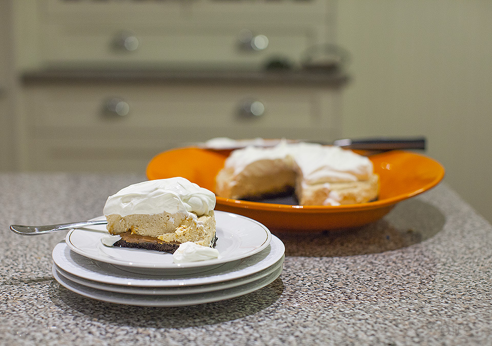 peanut butter cream cheese pie - my love language - bite