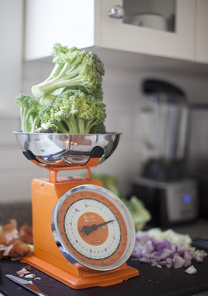 cream of broccoli soup without the cream - bitebymichelle.com